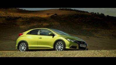 Vidéo : la nouvelle Honda Civic 2012
