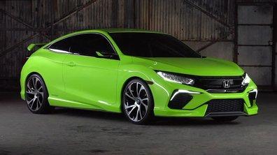 Honda Civic Concept 2015 : présentation officielle