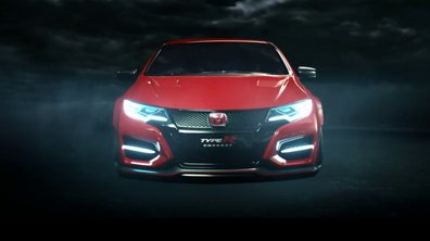 Honda Civic Type R 2015 : teaser officiel et terrifiant
