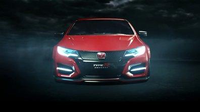 Honda Civic Type R 2015 : teaser officiel et terrifiant