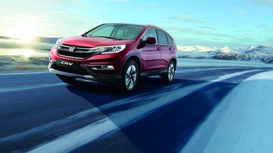 Honda CR-V 2015 : léger restylage pour le SUV japonais