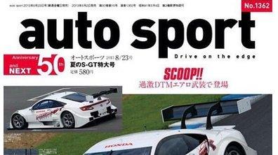 Honda NSX-GT Concept 2014 : la version de course en scoop