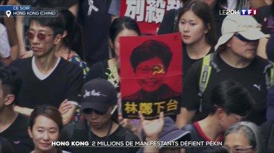 Hong Kong : deux millions de manifestants défient Pékin