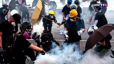 Hong Kong : la ville paralysée par une grève générale