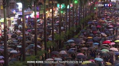 Hong Kong : nouvelle manifestation de masse