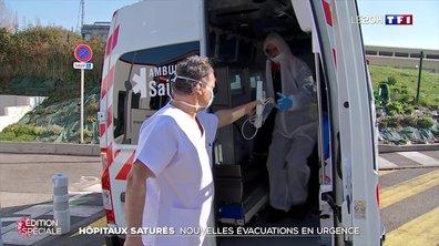 Hôpitaux saturés : nouvelles évacuations en urgence dans le Haut-Rhin