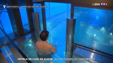 Hôtels de luxe en Suisse : les privilégiés du confinement