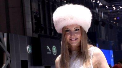 Les plus belles hôtesses du Salon de Genève 2013 !