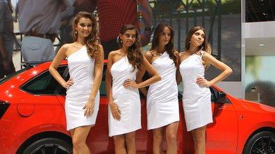 Les plus belles hôtesses du Salon de Francfort 2013