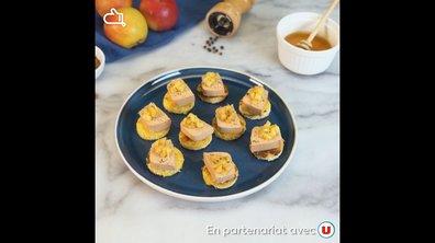 How To N°8 : Brioche perdue au foie gras et pommes