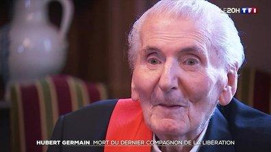 Hubert Germain, le dernier Compagnon de la Libération est mort
