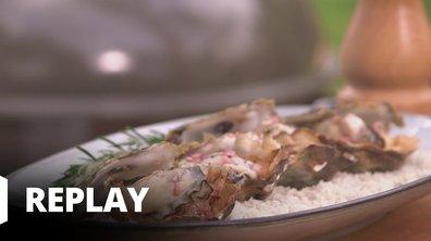 Huîtres à la bordelaise