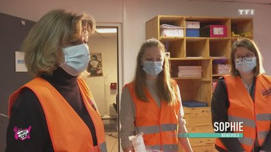 Gens de la rue/ hygiène à Caen - Au coeur des Restos du Coeur du 31 décembre 2020