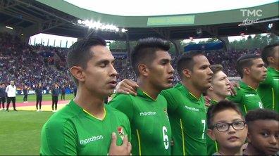 France - Bolivie : Voir l'hymne bolivien en vidéo
