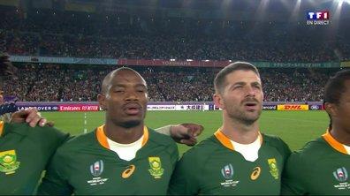 Pays de Galles - Afrique du Sud : Voir l'hymne sud-africain  en vidéo