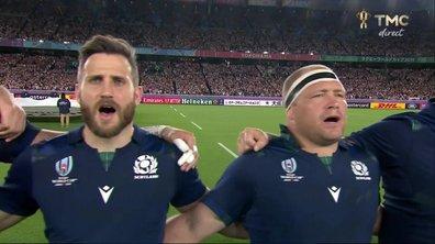 Japon - Ecosse : Voir l'hymne écossais en vidéo
