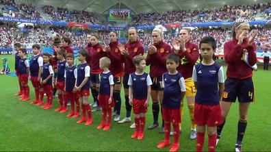 Espagne - Etats-Unis : Voir l'hymne espagnol en vidéo