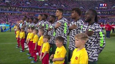 Nigeria-Islande (2-0) : le match en un coup d'œil