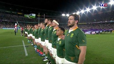 Angleterre - Afrique du Sud : Voir l'hymne sud-africain en vidéo