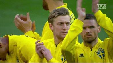 Espagne - Suède : Voir l'hymne suédois en vidéo