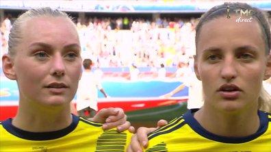 Angleterre - Suède : Voir l'hymne suédois en vidéo