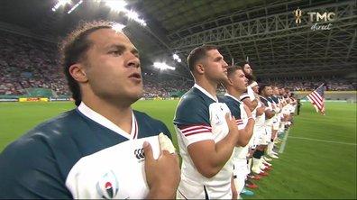 Angleterre - USA : Voir l'hymne américain en vidéo