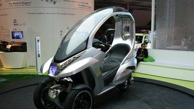 Peugeot HYmotion3 Compressor: Le scooter en toute sécurité