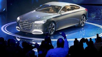 Salon de Détroit 2013 : Hyundai HCD-14 Genesis Concept, paquebot coréen