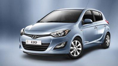 Hyundai i20 restylée, nouvelle gueule pour 2012