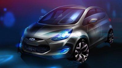 Mondial de l'Auto 2010: Hyundai ix20, un nouveau monospace compact