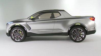 Hyundai Santa Cruz Crossover Concept 2015 : présentation officielle
