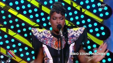 """Ibibio Sound Machine - """"Give me a reason"""" sur la scène de Quotidien"""