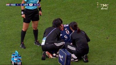 Pays-Bas - Japon (1 - 0) : Grosse frayeur à l'épaule pour Ichise