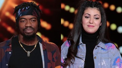 "THE VOICE 2020 - Ifè VS Kim chantent ""Trop beau"" de Lomepal"