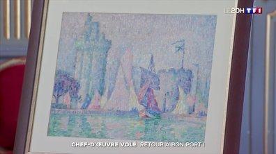 Il est de retour à Nancy : l'histoire rocambolesque du vol d'un tableau de Signac