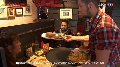 """Ils resteront fermés """"a minima jusqu'à la mi-février"""" : nouveau coup dur pour les restaurants"""