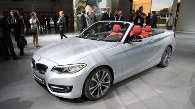 Mondial de l'Automobile 2014 : BMW Série 2 Cabriolet, l'A3 en ligne de mire