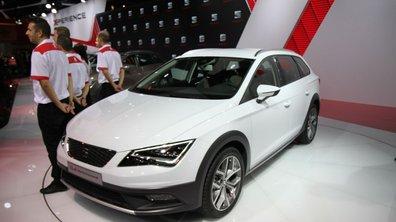 Mondial de l'Automobile 2014 : SEAT Leon X-Perience, le break compact à 4 roues motrices