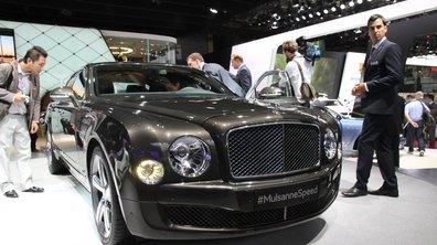 Mondial de l'Automobile 2014 : Bentley Mulsanne Speed, luxe et puissance associés