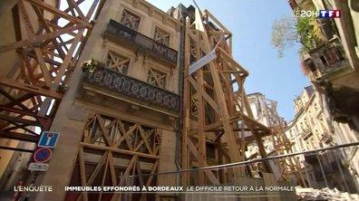 Immeubles effondrés à Bordeaux : le difficile retour à la normale