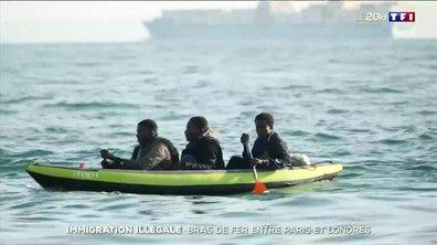 Immigration illégale : bras de fer entre Paris et Londres