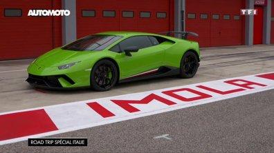 Road Trip spécial Italie : A Imola à bord des Lamborghini Aventador S et Huracan Performante