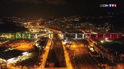Inauguration du nouveau pont de Gênes, deux ans après le drame