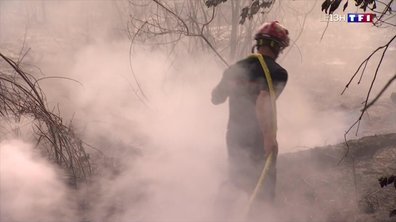 Incendie à Anglet : nuit d'enfer pour les habitants