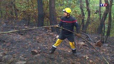 Incendie à Lablachère : le feu a été maîtrisé par les secours