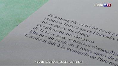 Incendie à Rouen : de plus en plus d'habitants envisagent de porter plainte
