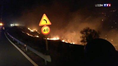 Incendie aux Canaries : circonscrit mais des reprises à craindre