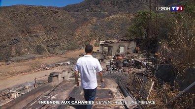 Incendie aux Canaries : le vent reste une menace