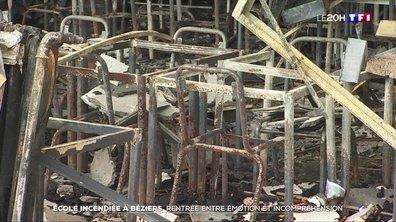 Incendie d'une école à Béziers : une rentrée entre émotion et incompréhension