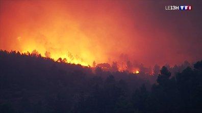 Incendie dans l'Aude : les pompiers toujours à pied d'œuvre
